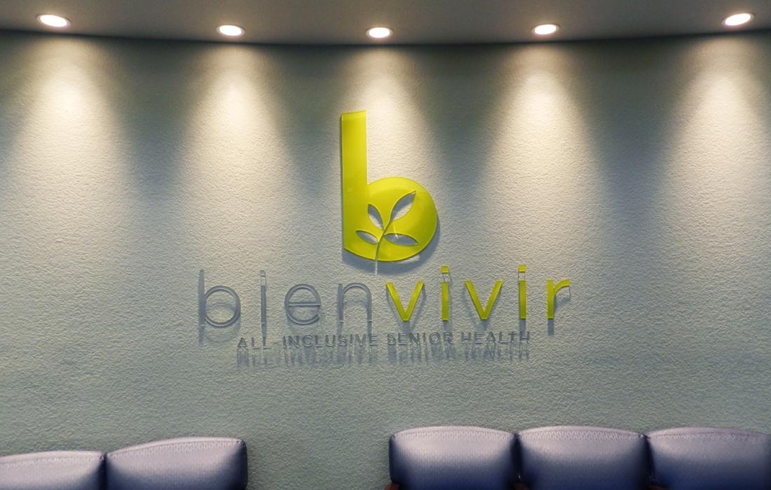 Bienvivir Logo Wall